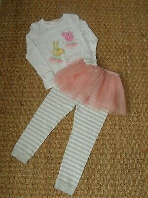 Bnwt M&S Peppa Pig Ballet Outfit Age 6-7 Years