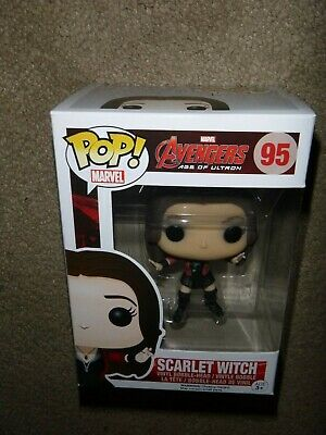 Funko pop Marvel Scarlet Witch 95 vaulted Avengers Age of Ultron