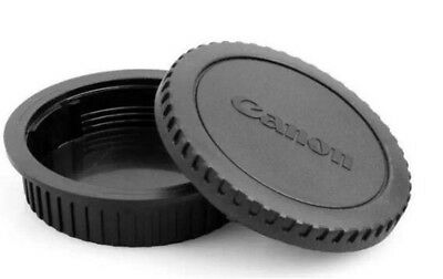 1 PCS New Rear Lens Cap+Camera Body Front Cap for CANON 60D/5D/7D/70D/600D/80D