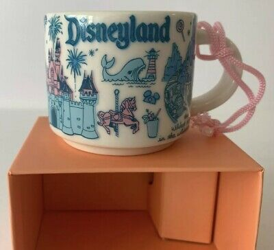Disney Parks Disneyland Starbucks Been There Pin Drop Mug Ornament - 2 fl oz