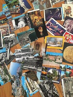 1500 postcards, used and unused in very good condition