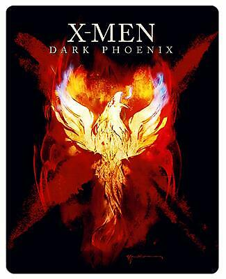 X-Men : Dark Phoenix Steelbook Edition  Blu-ray 4K Ultra HD