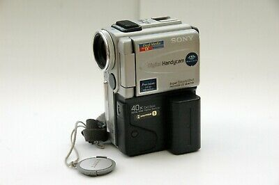 Sony DCR-PC3E Mini DV Tape  Camcorder and Underwater Sports Housing