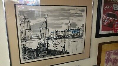 Excellent Rare Bernard Buffet Huge Clown Lithograph Signed And Home Interior And Landscaping Palasignezvosmurscom