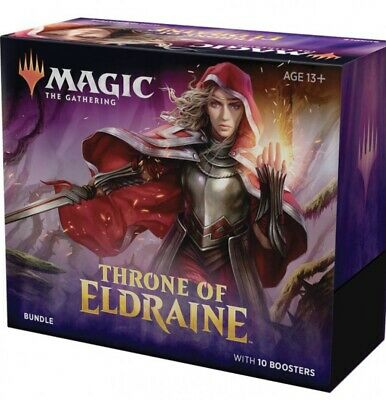 MTG - Throne Of Eldraine - Bundle/Fat Pack (Factory Sealed) - Ships October 7th