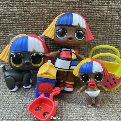 LOL Surprise Shapes Dolls & Lil Shapes & Shapes Kitty Eye Spy Series Rare Gifts