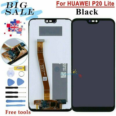 LCD Touch Screen For Huawei P20 Lite ANE-LX1 L21 NOVA 3e Display Digitizer Black