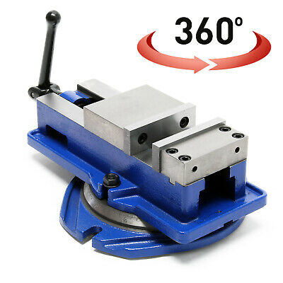 Precision Machine Vice 100mm with 360° Swivel Joint Vise