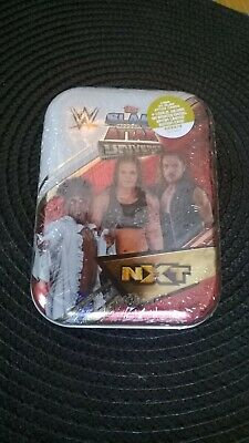 WWE NXT Slam Attax Universe Mini Tin NXT (35 trading cards inc limited edition)