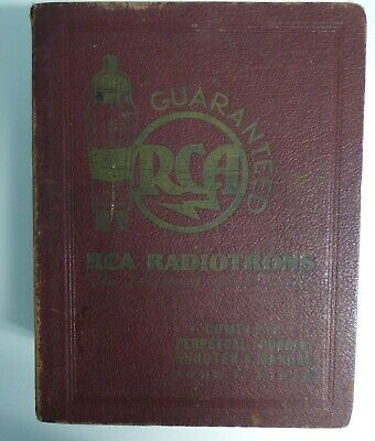 Antique (1) RCA Complete Troubleshooters Manual By J.F. Rider 1933