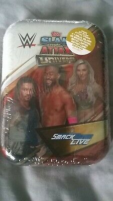 WWE Slam Attax Universe Mini Tin (35 trading cards inc limited edition) S.D.Live