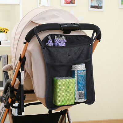 Baby Pram Stroller Pushchair NET BACK Bag Diaper Bottle Hanging Storage Pouch