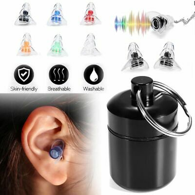 Noise Cancelling Ear Plugs Hearing Protection for Sleeping Concerts Party AU