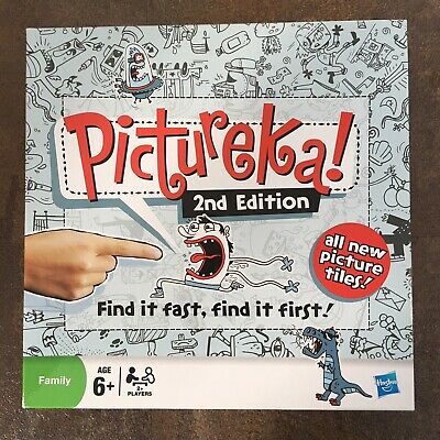 Pictureka! 2nd Edition Board Game - Hasbro 2009 - Complete