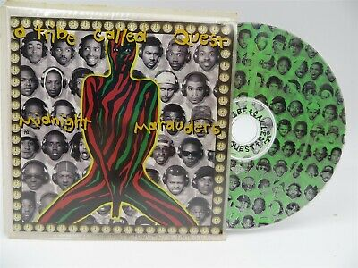 A Tribe Called Quest ♫ Midnight Marauders ♫ Jive Records CD