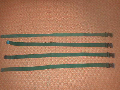 U.s. Army: ( X  4 )  Quick Release Straps, Never Used Militaria