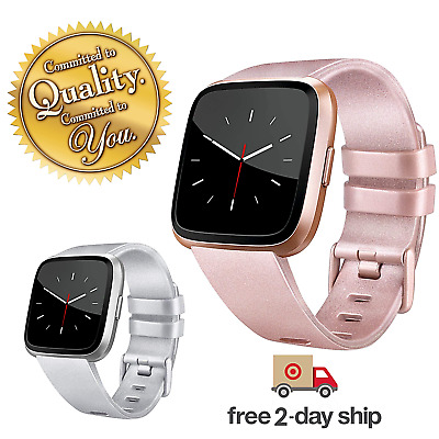 Bangle Replacement Sport Fitness Wristband Band ROSE GOLD Small Versa Silicone
