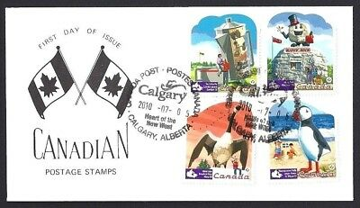 Canada   # 2401a   SPECIAL ROADSIDE ATTRACTIONS CACHET     New 2010 Unaddressed