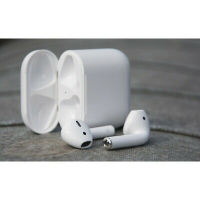 MRXJ2CH/A For Apple AirPods 2nd Generation Wireless Earbuds with Charging Case