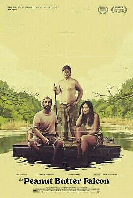 The Peanut Butter Falcon movie poster  - 11 x 17 - Shia LaBeouf, Dakota Johnson