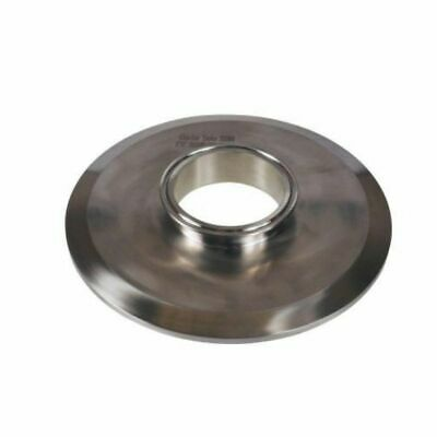 Tri Clamp end cap reducer 8inch to 3inch stainless steel