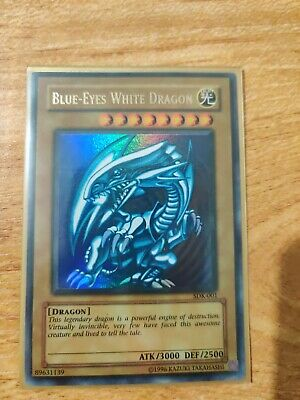 NM/M Unlimited Edition SDK-001 Ultra Rare Blue-Eyes White Dragon