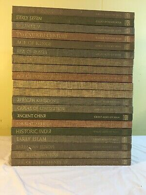 Time-Life: Great Ages of Man -A History of the World's Cultures -20 Volumes HC