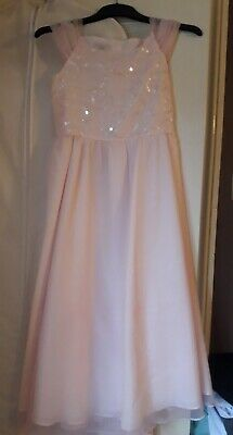 Pale Pink Bridesmaid or Party Dress By Tigerlily (Debenhams) Age 11 Years