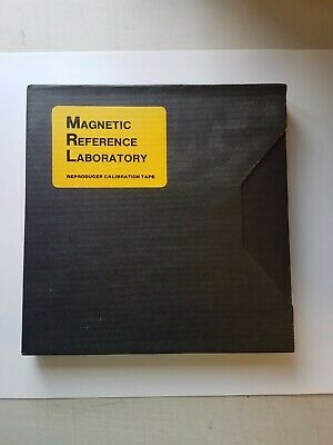 Magnetic Reference Labroratory Reproducer Calibration Tape Metal Reel