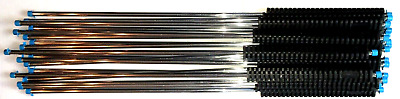 """LOT OF 18 LEGACY 36"""" Chrome Oval Molded Grip Pressure Washer Lance 8.752-894.0"""
