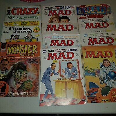 Vintage MAD magazines and others