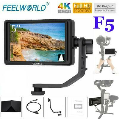 "FEELWORLD F5 5"" IPS Screen 1920x1080 HD 4K Video Monitor HDMI for DSLR Camera"
