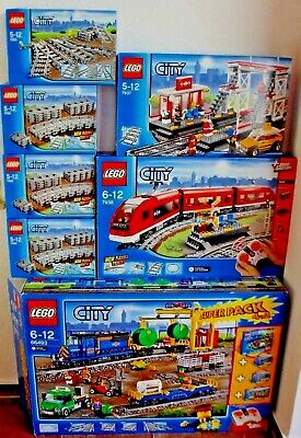 LEGO City 4in1 Superpack 66493(60052+60050+7499+7895)+ 7937 + 7938 + 7499 + 7895