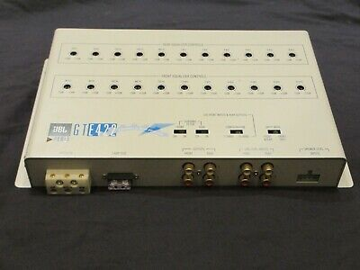 JBL GTE422 Equaliser - 4 Channel 22 Band EQ, for Car Audio Amplifiers Speakers