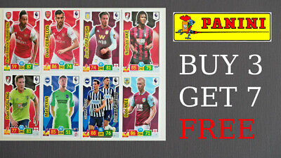 PANINI PREMIER LEAGUE ADRENALYN XL 2019/20 BASE 1 - 90 Arsenal Burnley Villa