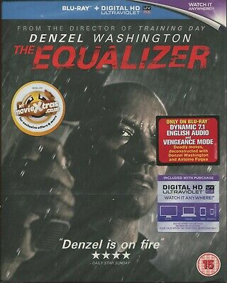 The Equalizer  [Blu-ray] DENZEL WASHINGTON NEW SEALED