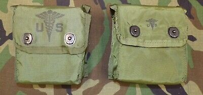 US Military Issue Individual First Aid Kit (DOD Inspected) in ALICE Belt Pouch