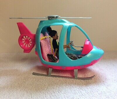 Barbie Helicopter & Doll