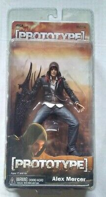 Prototype Alex Mercer Exclusive 3.5 Promotional Figure by Player Select NECA