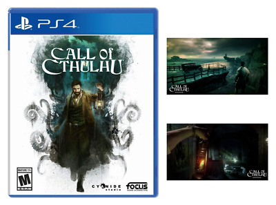 Call of Cthulhu(Brand New) - PlayStation 4, Free Shipping