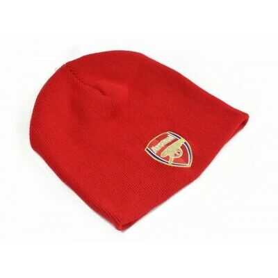 Arsenal FC Official Football Knitted Beanie Hat (BS394)