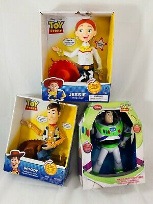 Toy Story Talking Woody, Jessie and Buzz Lightyear 3PCS