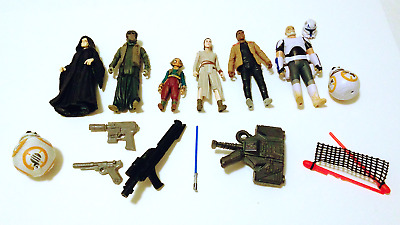 New LOT 6 STAND BASE Accessories FOR STAR WARS 3.75/'/' ACTION FIGURES 2010 S227