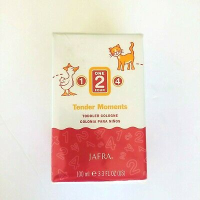 JAFRA one two four Tender Moments Toddler Cologne 3.3oz.