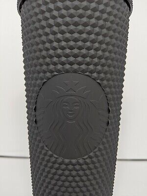 Starbucks Matte Black Studded Tumbler Cup 24oz Venti Holiday Fall 2019 New