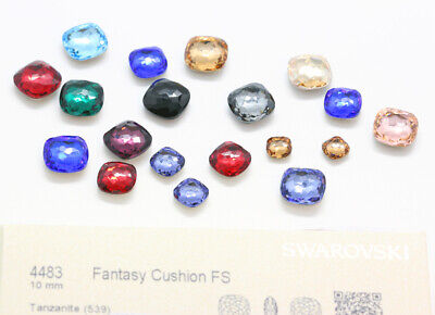 NEW Genuine SWAROVSKI 4483 Fantasy Cushion Fancy Stones Crystals * Many Colors