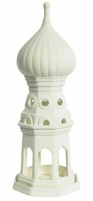G592: Fjodor Tower, Basilius Cathedral in Moscow Tea Light Lamp Biscuit China