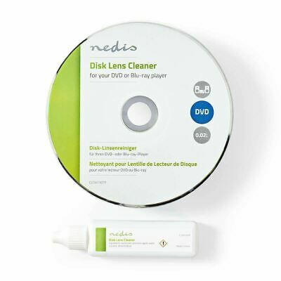 New Laser Lens Cleaner With Cleaning Fluid, For Dvd Or Blu-Ray Player Recorder