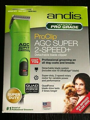 NEW Andis Clippers proclip AGC2 Super 2 Speed Clipper Spring Green 22585