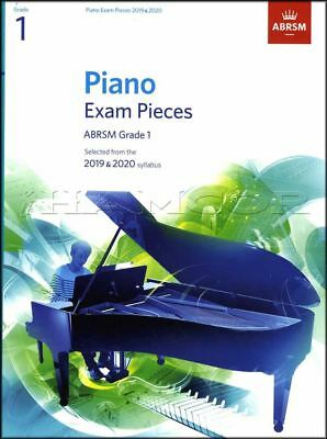 ABRSM Piano Exam Pieces 2019 2020 Syllabus Grade 1 Sheet Music Book Tests Songs